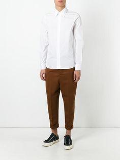 Marni concealed placket shirt