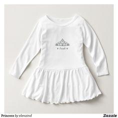 Princess Toddler Ruffle Dress by Elenaind #Zazzle