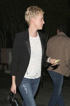 Love Charlize Theron's Short Hair