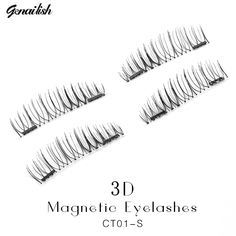 Genailish Fake Lashes 6D Magnetic Eyelashes Double Magnet False Lashes Makeup Extension Eyelash maquillage CT01-S  // Price: $US $2.21 & FREE Shipping //  Buy Now >>>https://www.mrtodaydeal.com/products/genailish-fake-lashes-6d-magnetic-eyelashes-double-magnet-false-lashes-makeup-extension-eyelash-maquillage-ct01-s/  #OnlineShopping