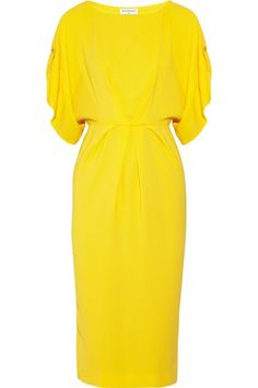 Vionnet Stretch Crepe Dress - Lyst yes yes yes! Dress Skirt, Dress Up, Short Dresses, Dresses For Work, I Love Fashion, Womens Fashion, Crepe Dress, Tulle Dress, Mellow Yellow