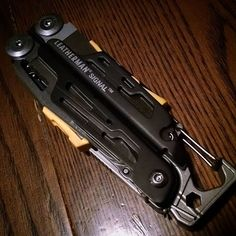Early Christmas party gift..... Hands down the best @leathermanusa multi tool I've ever handled!! #leatherman #signal #leathermansignal