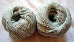 Natural Bamboo and Soy Yarn Sport weight by HandyFamily on Etsy, €4.00