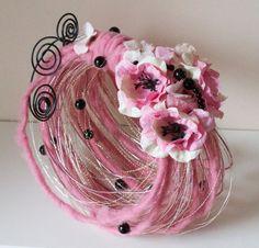 Bouquet alternative pink and black wedding by AlternativeBlooms, $95.00