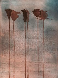 """Jenny Freestone, """"Mothers' days"""", Aquatint and Etching, 2013. 24 x 18ins."""