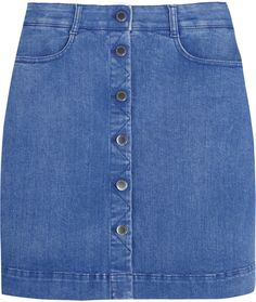 Stella McCartney Stretch-denim mini skirt on shopstyle.co.uk