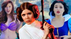 Disney Princesses welcome new Disney Princess Leia - Star Wars. Such a catchy song!