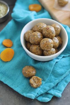 These apricot almond butter snack bites are healthy, raw, no bake and high protein.
