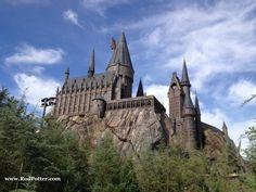 Leftside of Harry Potter castle