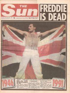 L'addio sui giornali: Speciale Freddie Mercury - Stampa