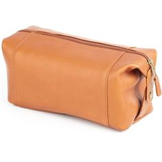 Leather Snap Shave/Cosmetic Case