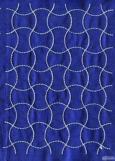 sashiko patterns free download | Sashiko Quilt Embroidery Design 3