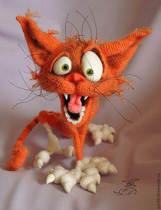 Аристарх. Дикие страсти! - купить или заказать в интернет-магазине на Ярмарке Мастеров | Аристарх, кот дикошарый, абсолютно безбашенный!