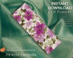 Peyote Bracelet Pattern Cool Geometric Shapes Stack por MigotoChou