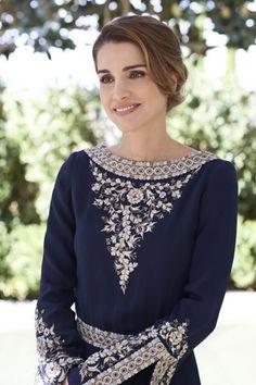 Portrait of Queen Rania of Jordan