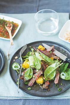 Recette: #Salade de #boeuf #thaï à l' #ananas. #Picard