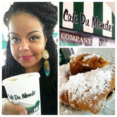 7 days in Nola and I finally made it to Café Du Monde ....mmmmmm... #potd #photooftheday #all_shots #foodporn #frenchquarter #food #coffee #beignets #webstagram #instagram #instadaily by msmixedcutie