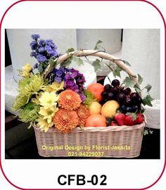Fruit and Flower Basket | Toko Bunga Jakarta