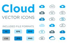 Cloud icons!