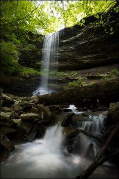 Murray Falls near Cass in the River Valley #Arkansas