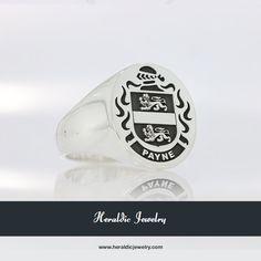 Payne family crest jewelry