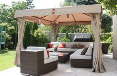 Altana/wiata ogrodowa MEGA GAZEBO 300X300X300 cm Gazebo, Pergola, Outdoor Furniture Sets, Outdoor Decor, Outdoor Structures, House Design, Patio, Home Decor, Kiosk