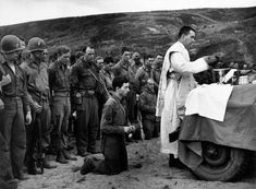 New Liturgical Movement: Historical Image: Mass on D-Day