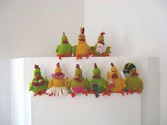 Ravelry: Spring Chicken pattern by Jacqui Turner