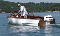 Lyman Boat Works Lyman Boats, Runabout Boat, Classic Wooden Boats, Boat Engine, Vintage Boats, Old Boats, Power Boats, Boating, Motors