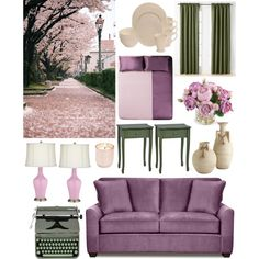 Untitled #3 by oksana-m on Polyvore featuring polyvore interior interiors interior design maison home decor interior decorating Alessandro Di Marco Baum Miller Curtains Hermès New Growth Designs Jonathan Adler