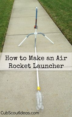 You won't believe how high your rocket will go with this simple and inexpensive air rocket launcher!