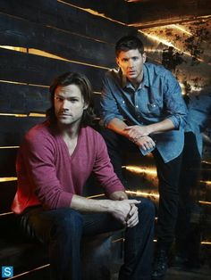 Jared Padalecki Sam Winchester Jensen Ackles Dean Winchester #Supernatural