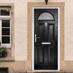 Siena composite door with stippolyte obscure glass doors for Composite door design your own