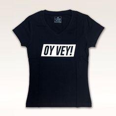 Oy Vey Women's V-Neck T-shirt