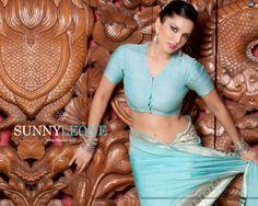 How hot am i in saree - Sunny Leone -