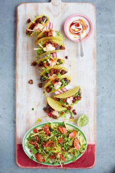 ultimate tacos with spicy black beans & avocado green salad | Jamie Oliver | Food | Jamie Oliver (UK)