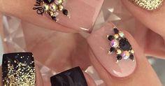 Instagram media _stephsnails_ #nail #nails #nailart   Nailsss   Pinterest   Nails, Leopards and Instagram