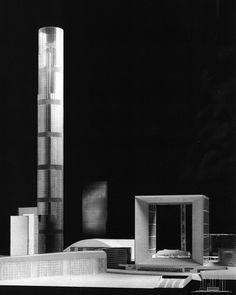 Projet de Tour Sans fin de Jean Nouvel (1945 - ), 2001