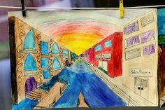 smART Class: Italy One Point Perspective