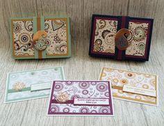Stampin' Up! C6 card set. Paisleys and Petals, Paisleys and Posies. Paisleys Framelits. Rich Razzleberry, Mint Macaron, Delightful Dijon