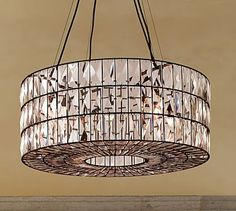Adeline Crystal Chandelier #potterybarn - maybe for her closet, or a smaller bedroom.