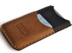 """Htc One leather cover case. Hand by HAPPER, (The """"NEW"""" Advanced Technology of #Bluetooth at www.finderdevice.com)"""