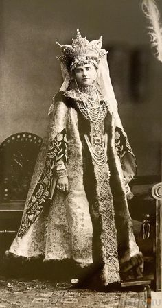 Last Russian ball, which was in 1903. Princess Maria Pavlovna Rodzyanka, nee Golitsyna (Galitzina). Probably too old to be Maria the daughter of Prince Paul Golytsin, Master of the Imperial Hunt to Nicholas I and sister to Catherine Golytsin, maid of honor to Grand Duchess Vladimir.