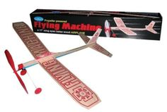 Flying Machine Kit, 17 Wingspan - Listing price: $6.49 Now: $5.28
