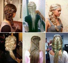 Saç modelleri Hair Dos, Pretty Braids, Beautiful Braids, Gorgeous Hair, Beautiful Things, Awesome Hair, Great Hair, Your Hair, Down Hairstyles