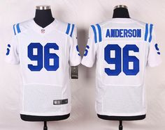 NFL Customize Indianapolis Colts 96 Anderson White Men Nike Elite Jerseys  Philadelphia Eagles 5a79206ad