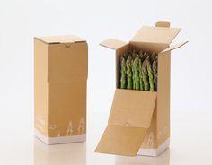 生産者の思いが込められたアスパラガスの産直箱 Vegetable Packaging, Fruit Packaging, Box Packaging, Packaging Design, Branding Design, Product Packaging, Vegetable Boxes, Japanese Packaging, Brick And Wood