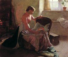 Sweet Dreams, 1892 Edwin Harris