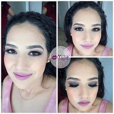 💋Antes-después #yuka_make_up  Smoky eyes brown  Realiza tu cita de belleza📱6699415513