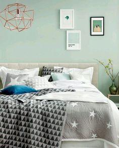 """Mais um quarto desejar e salvar na pastinha """"quero""""... Night night {pic via pinterest} #cdaquartos #bedroom #bedtime #bedroomdecor #blogcasadasamigas"""